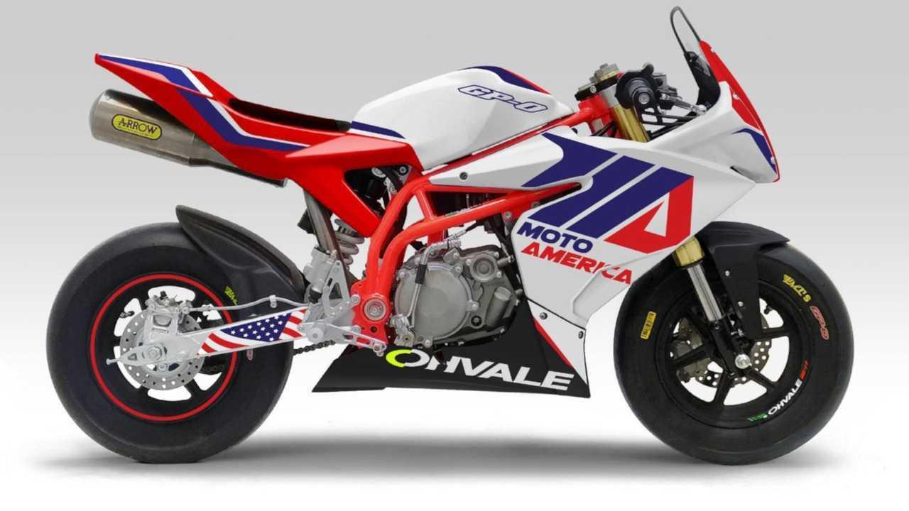 MotoAmerica Mini Cup 2020 Ohvale GP-0