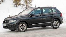 VW Tiguan GTE (2020): Erlkönig verbirgt das Facelift