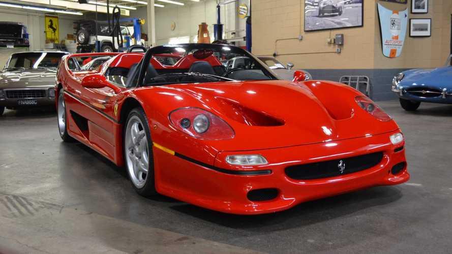 La toute première Ferrari F50 à vendre