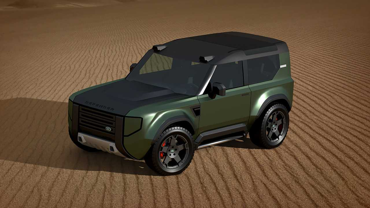 Land Rover Baby Defender rendering