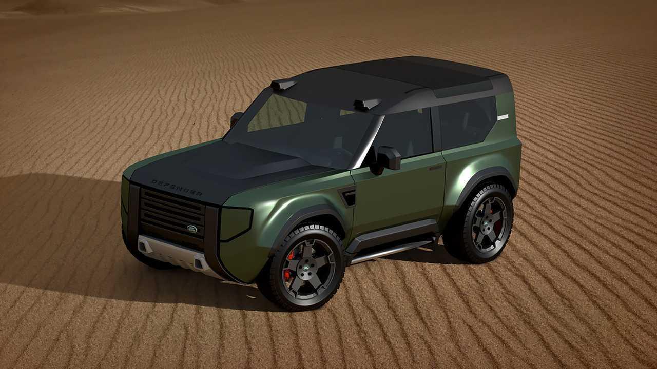 Land Rover Baby Defender Renderings