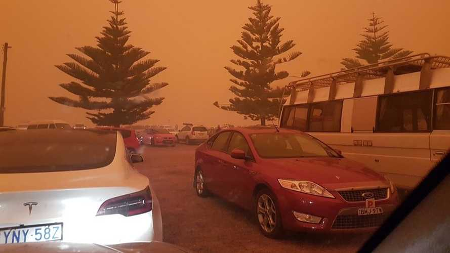 Tesla Model 3 Protected Owner, Family During Australian Fires