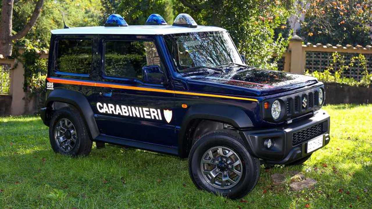 Suzuki Jimny İtalyan Polisi