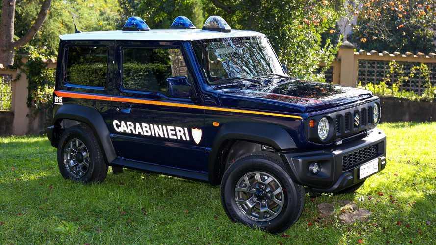 Suzuki Jimny, İtalyan Carabinieri saflarına katılıyor