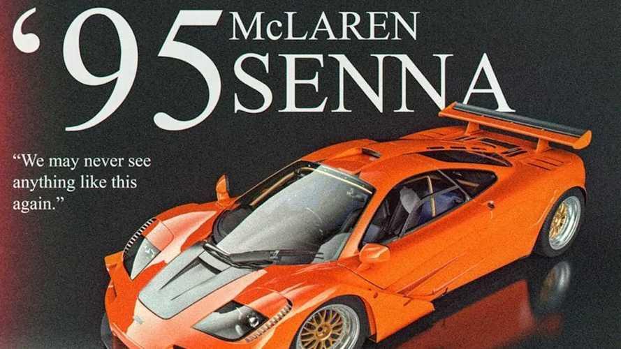 1995 McLaren Senna By Abimelec Design