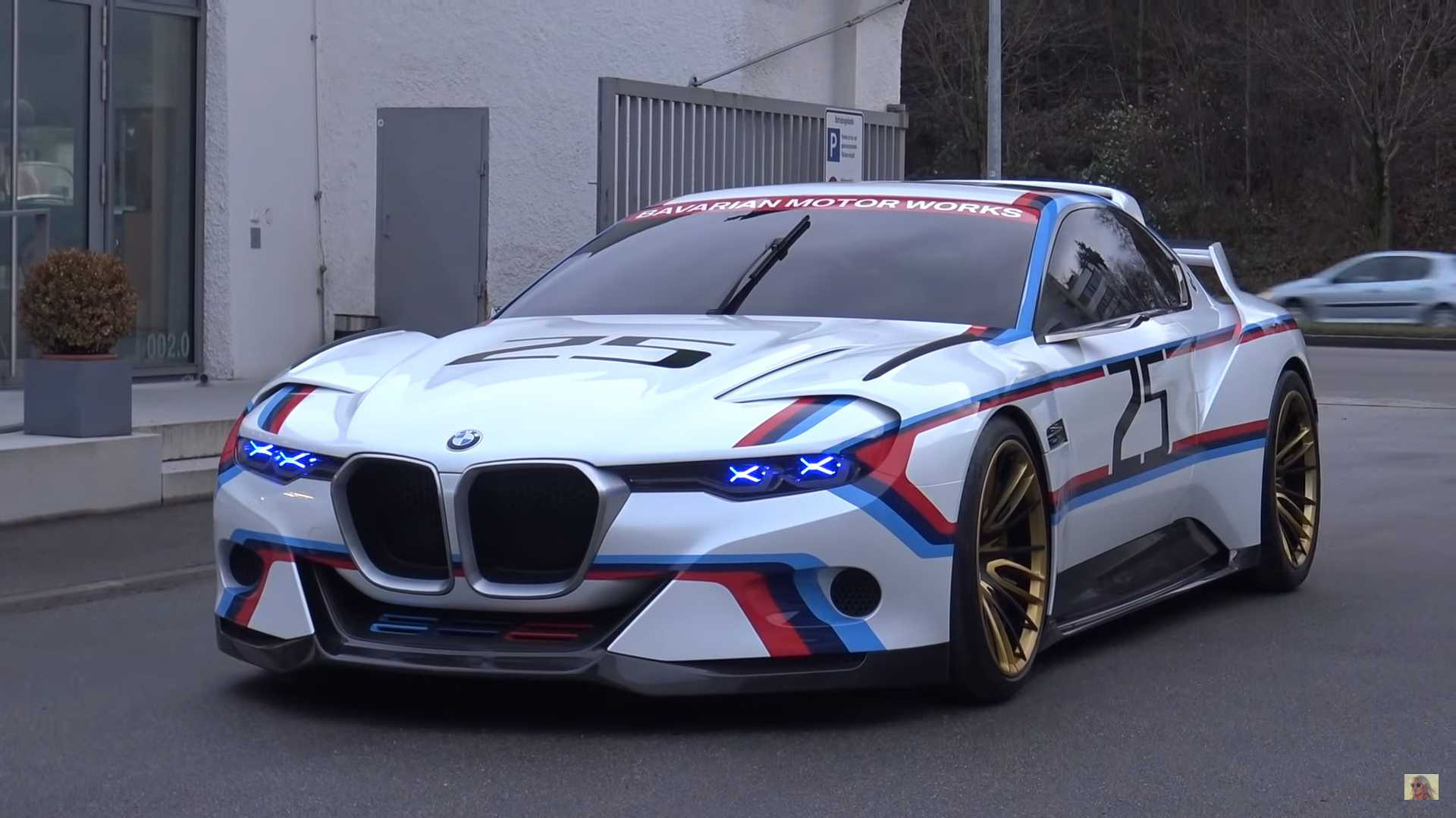 See And Hear Supercar Blondie Sample The BMW 3.0 CSL Hommage R