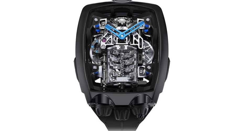 Este reloj, inspirado en el Bugatti Chiron, cuesta un riñón