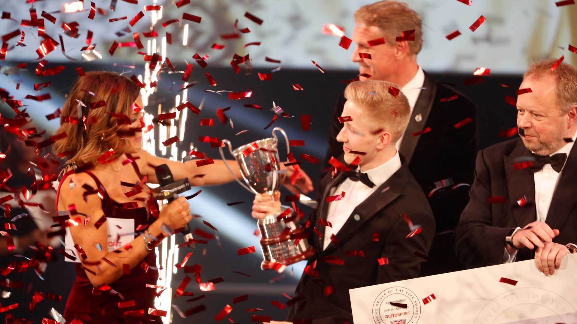 Motorsport superstars celebrate in London as a spectacular season draws to a close