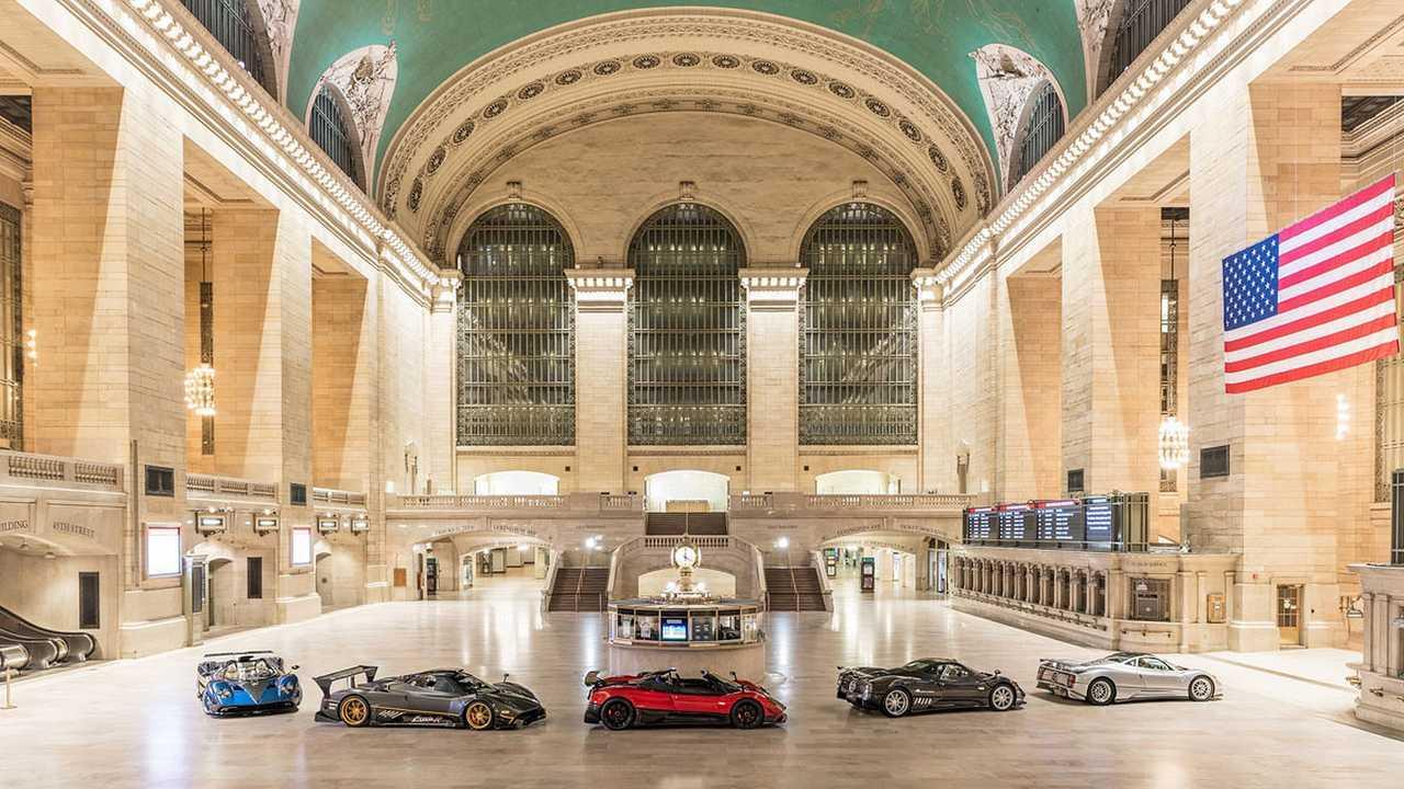 Pagani alla Grand Central di New York