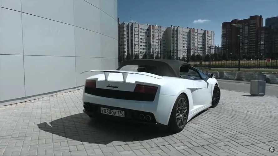 Lamborghini Gallardo Replica From Mitsubishi Eclipse