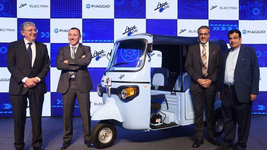Piaggio Takes Electric Turn With Its Iconic Three-Wheel Ape Workhorse