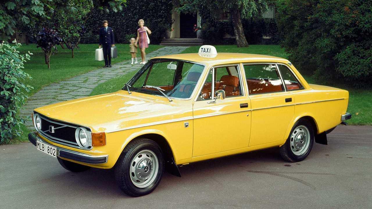 Volvo - Hej Schweden-Taxi!