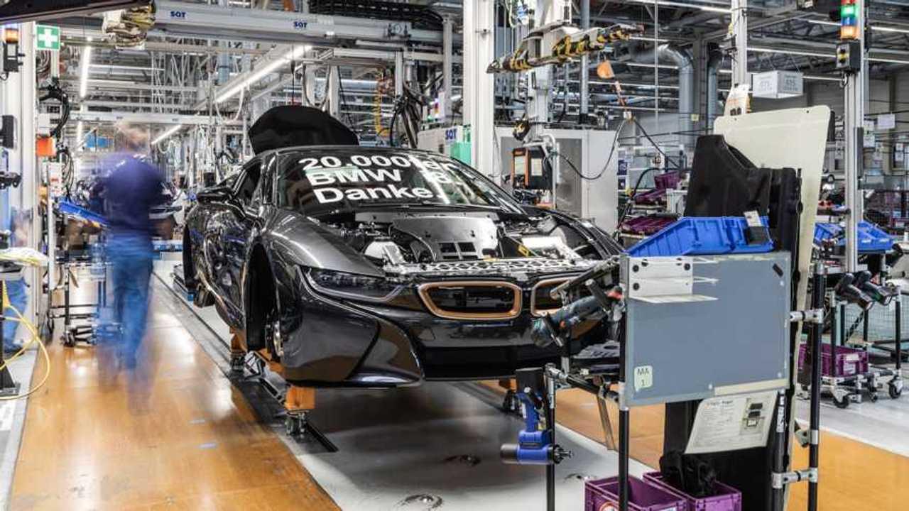 BMW i8 #20,000th