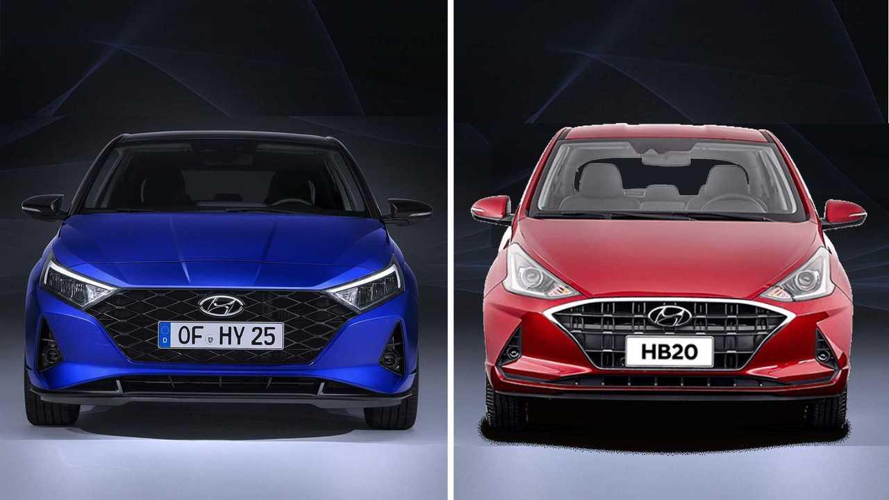Hyundai HB20 x i20