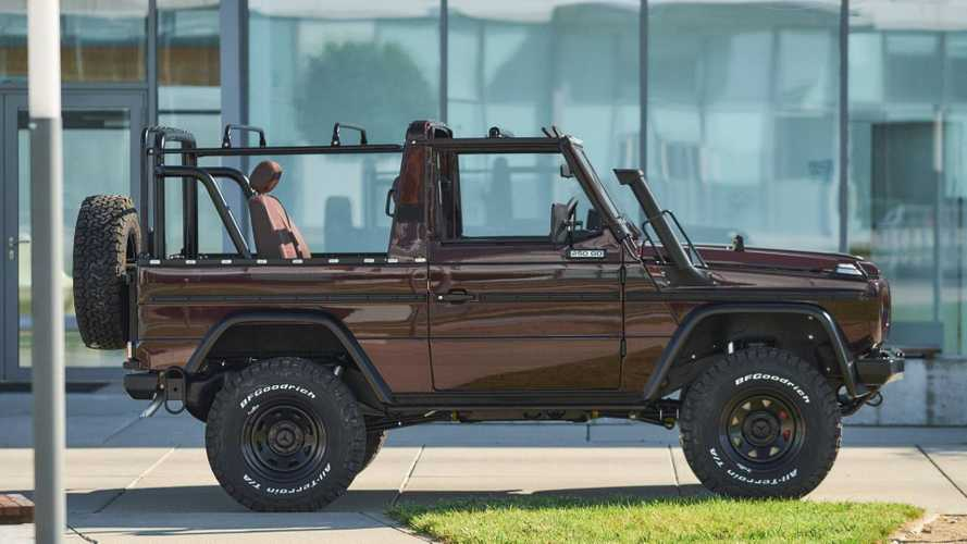 US Company Sells Decommissioned Military Mercedes G-Wagens