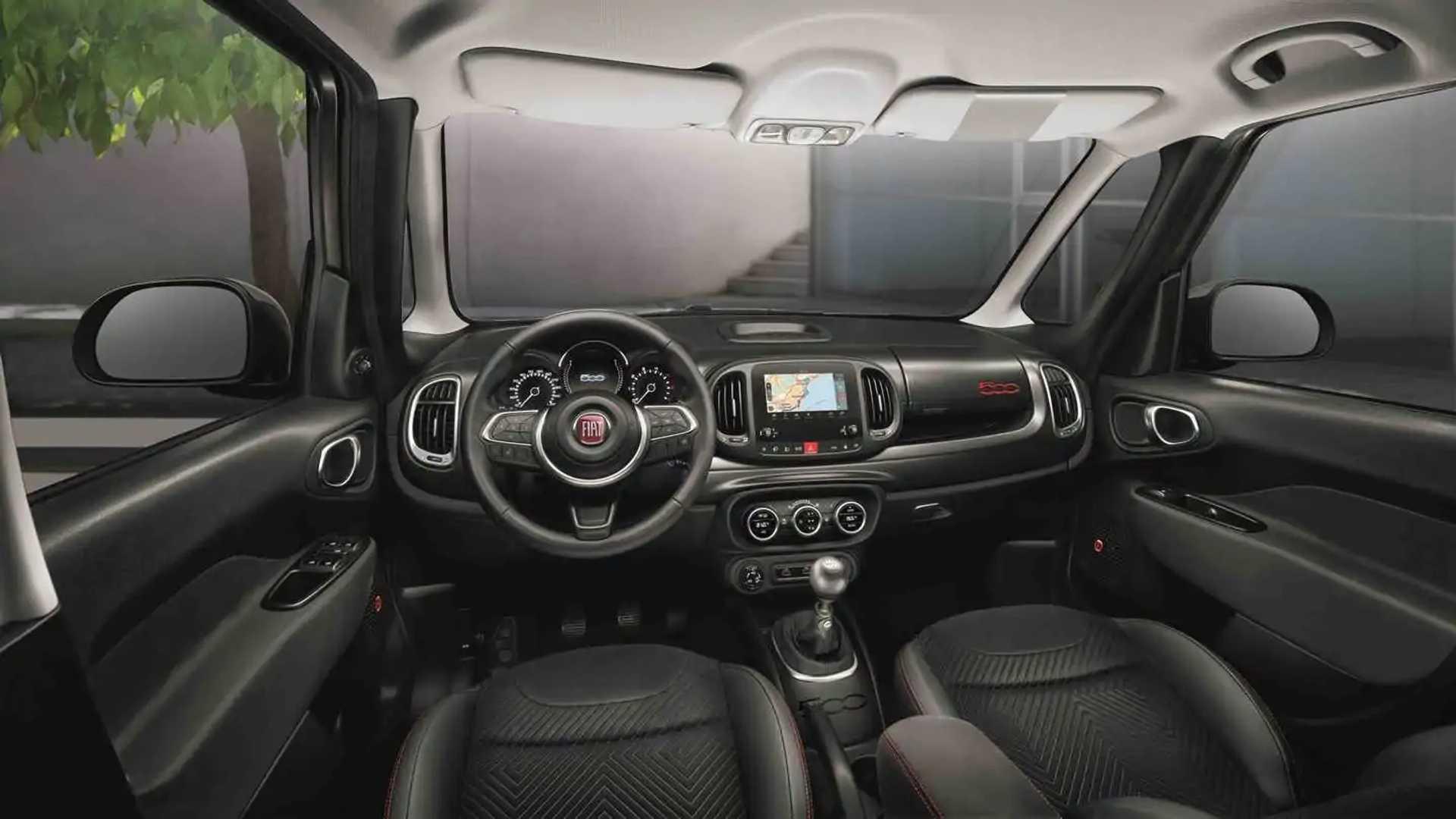 2020 Fiat 500L Speed Test