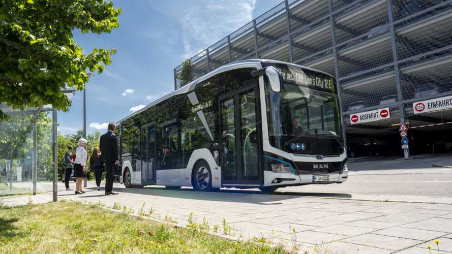MAN Scores First Order For Lion's City E Electric Buses