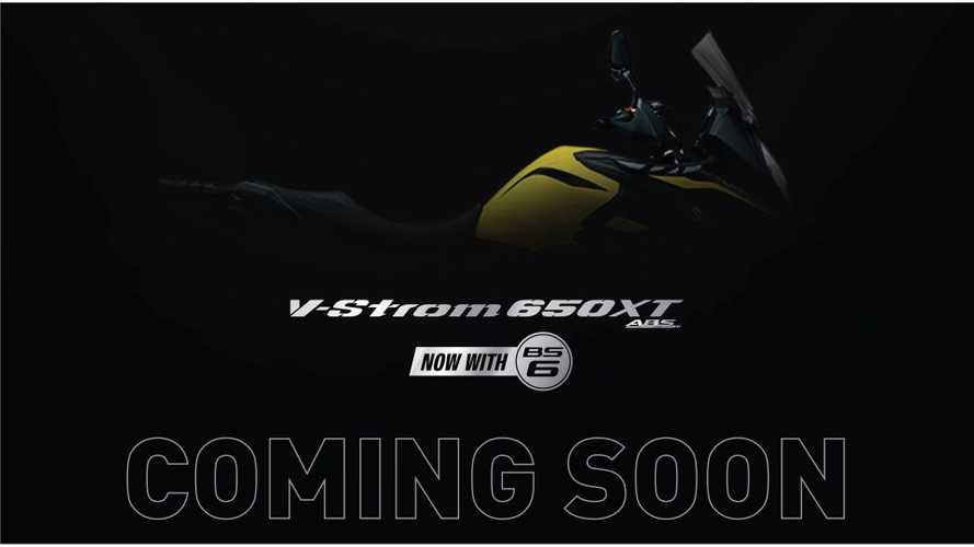 Coming Soon: New BS6-compliant Suzuki V-Strom 650 XT