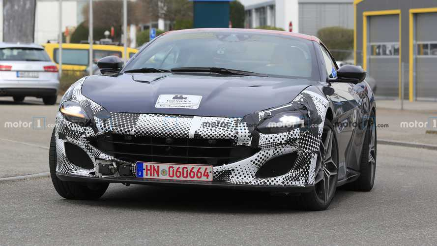 Ferrari Portofino facelift spied for the first time?