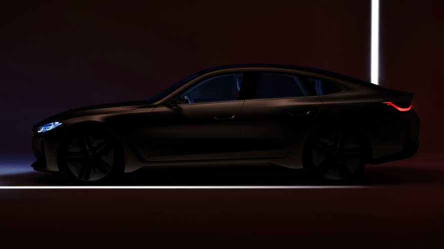 BMW Concept i4 Final Teaser Hints At Near-Production Design