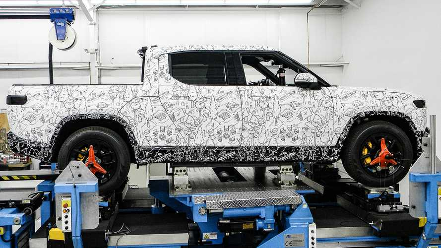 Rivian Electric Truck Gets Jiggy With It, Even Under Lockdown