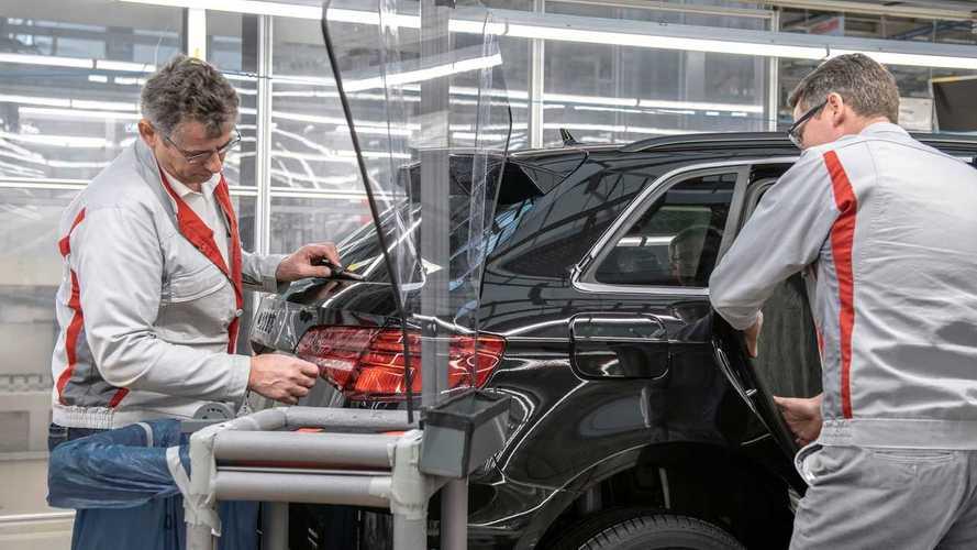 Audi redémarre progressivement ses usines européennes