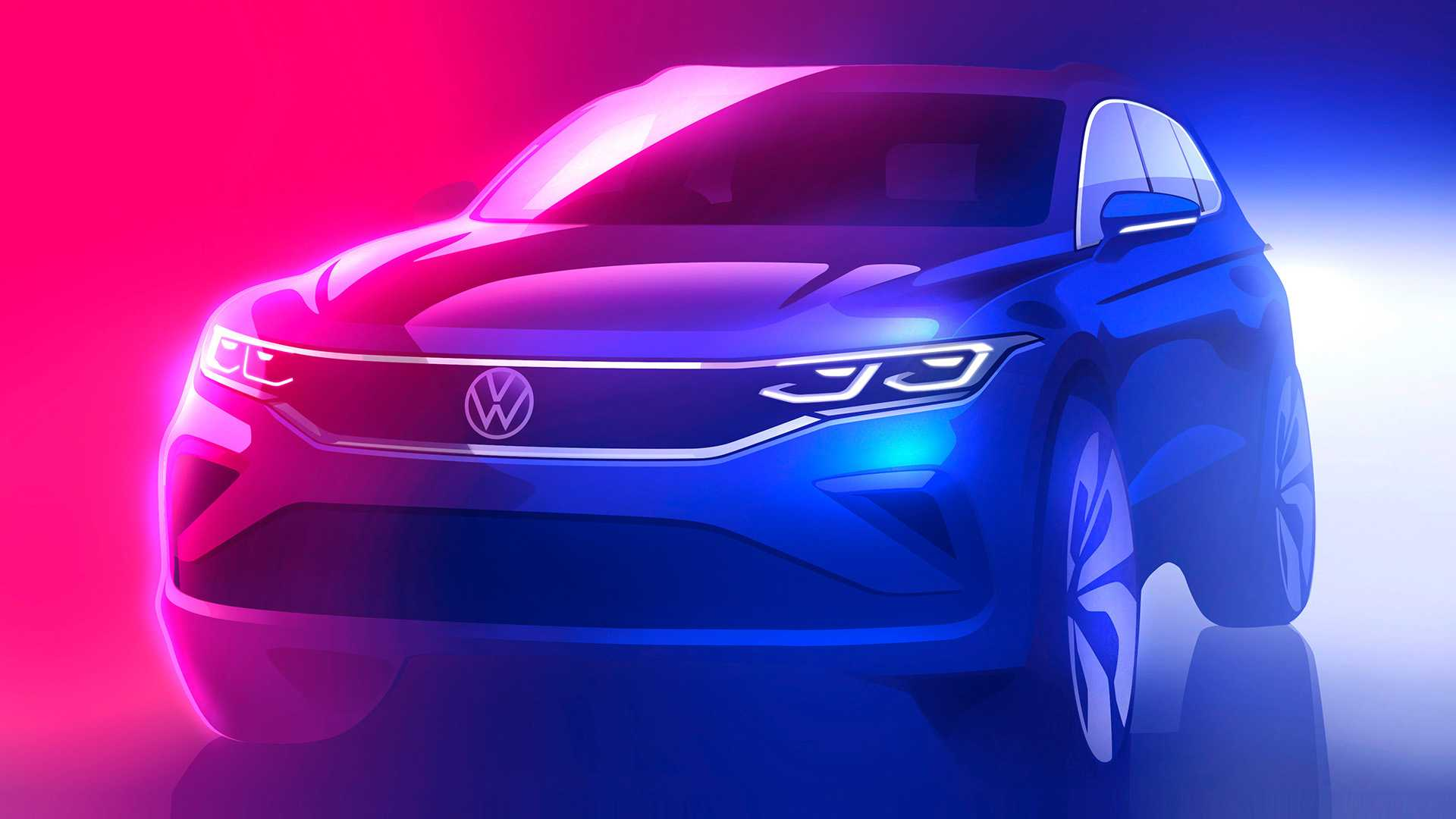 2021 Volkswagen Tiguan Mid Cycle Facelift Teased