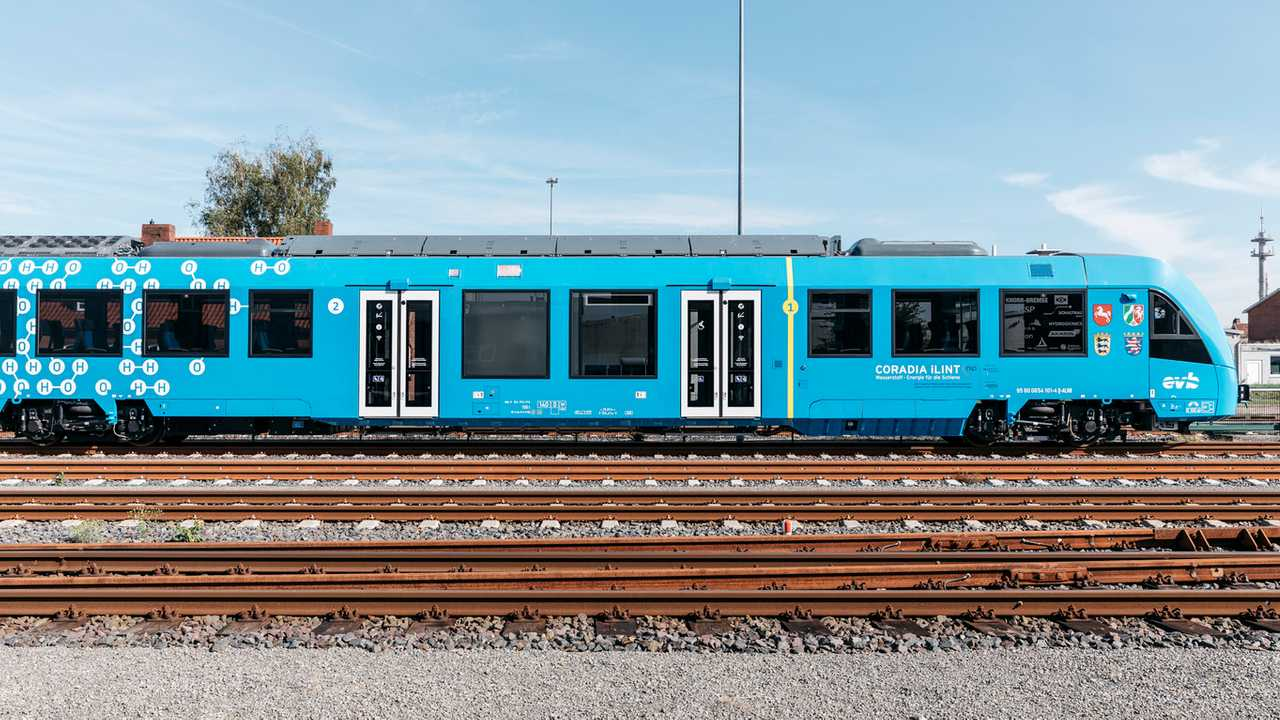 Coradia iLint, Treno ad Idrogeno