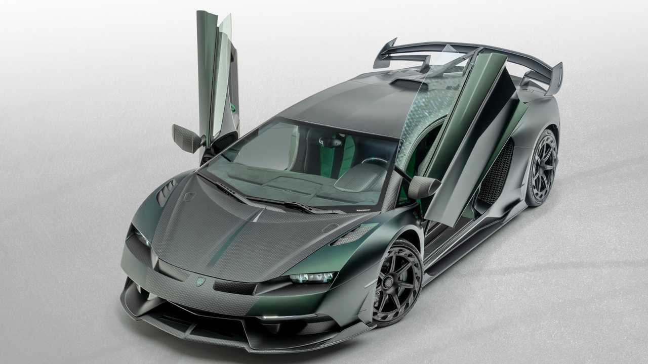 Mansory Cabrera based on the Lamborghini Aventador SVJ
