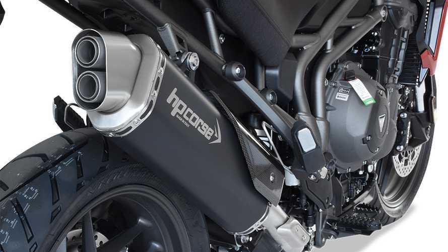 Scarico 4-Track by HP Corse per Triumph Tiger 1200