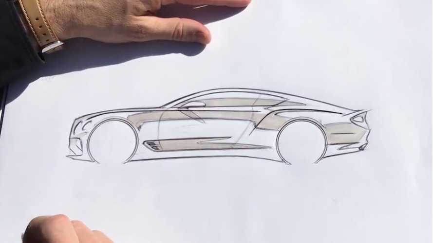 Comment dessine-t-on la Bentley Continental GT ?