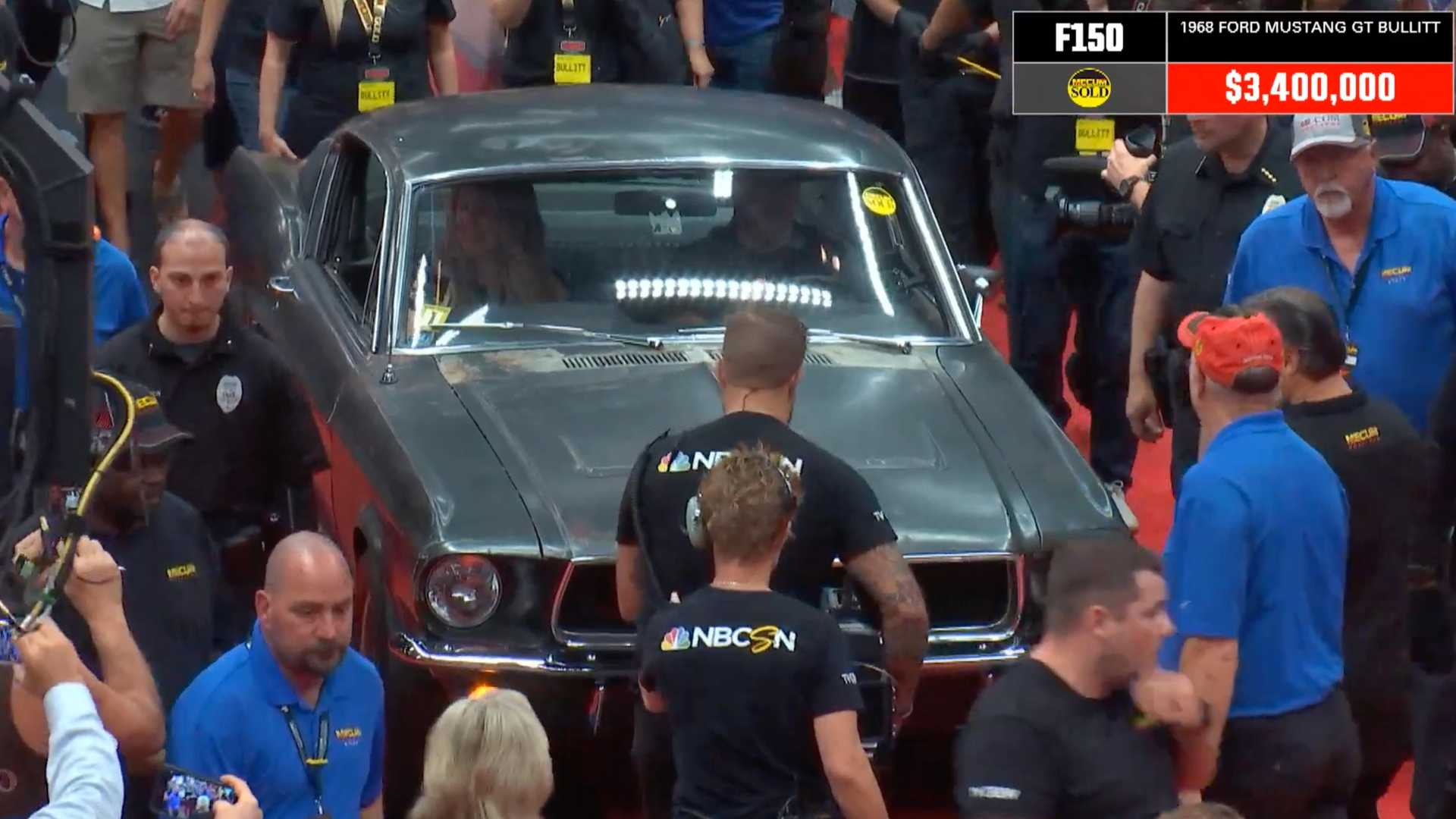 Mustang Bullitt Movie Car Sells For Record $3.4M At Auction