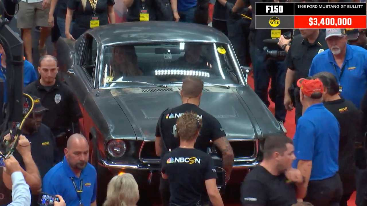 Ford Mustang Bullit Auction