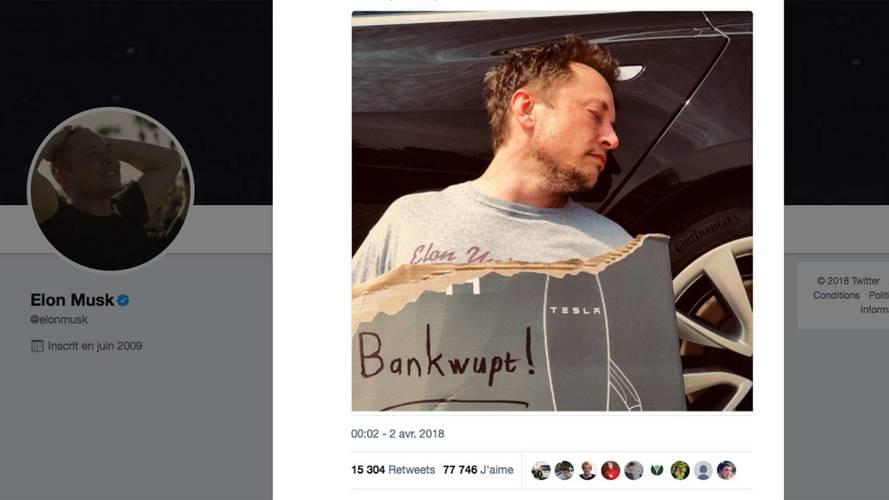 Elon Musk annonce la banqueroute de Tesla