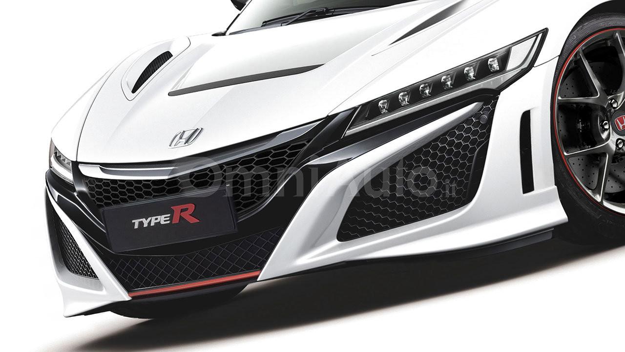 Honda NSX Type R 2017, il rendering