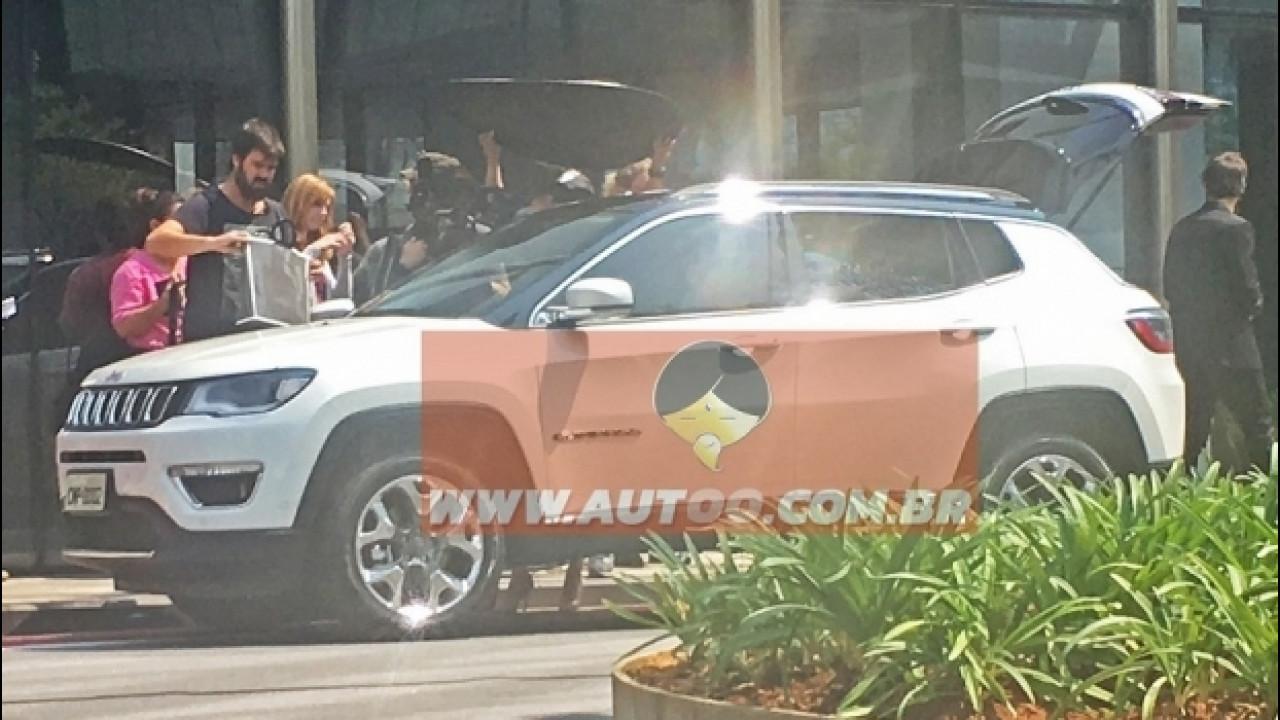 [Copertina] - Nuova Jeep Compass, in Brasile è già pronta: le foto spia
