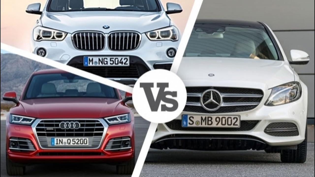 [Copertina] - Mercedes vende più di BMW e Audi