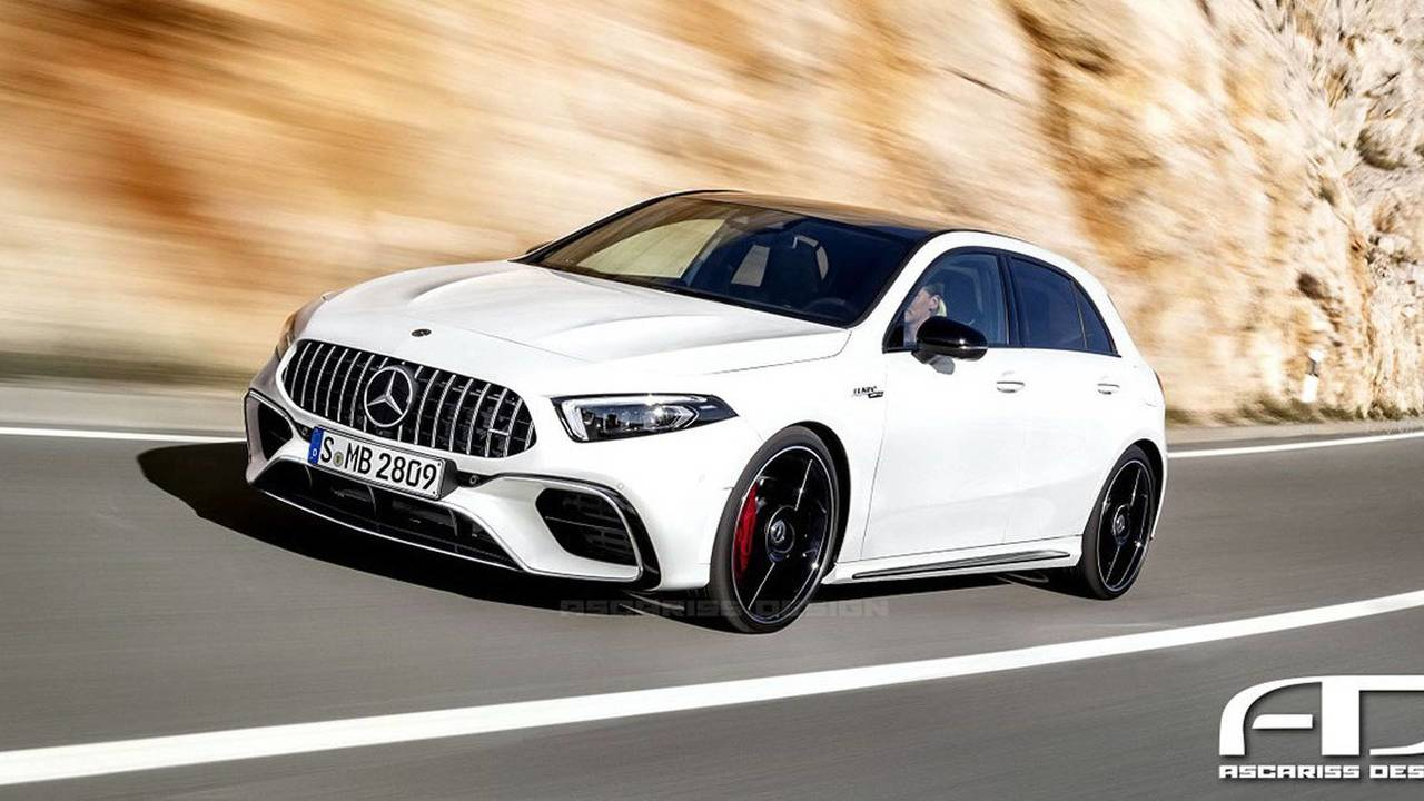 Render Mercedes-AMG A 45 4MATIC 2018