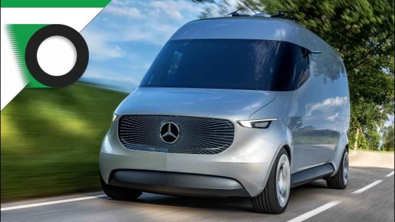 [Copertina] - Mercedes, al CES il veicolo commerciale del futuro