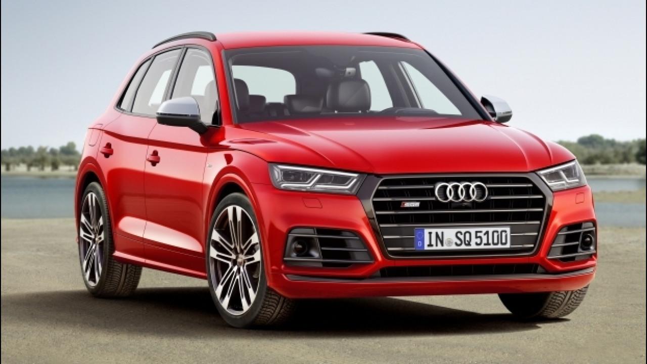 [Copertina] - Nuova Audi SQ5, a benzina anche per l'Italia