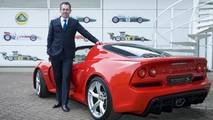 Lotus CEO Jean-Marc Gales