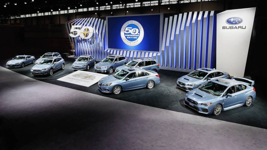Subaru - 50. évforduló