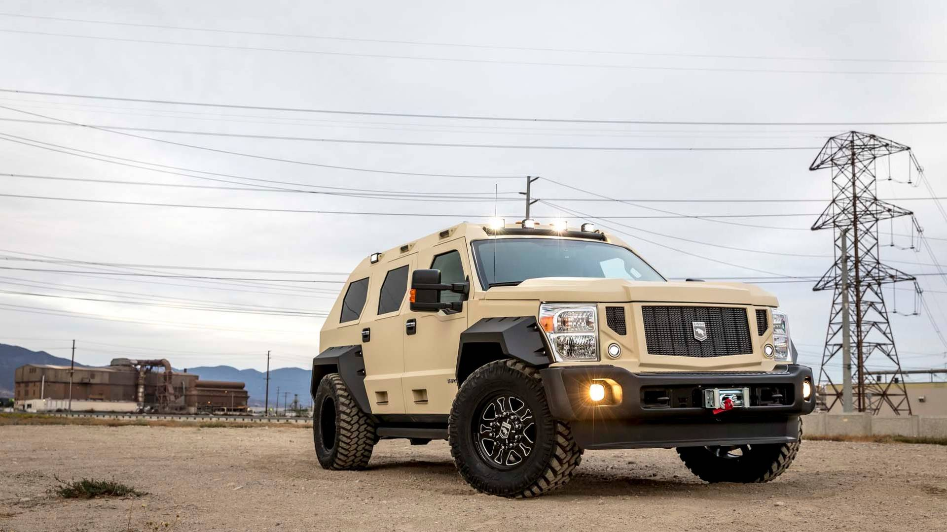 Rhino GX Executive Lets You Invade Countries In Suave Luxury