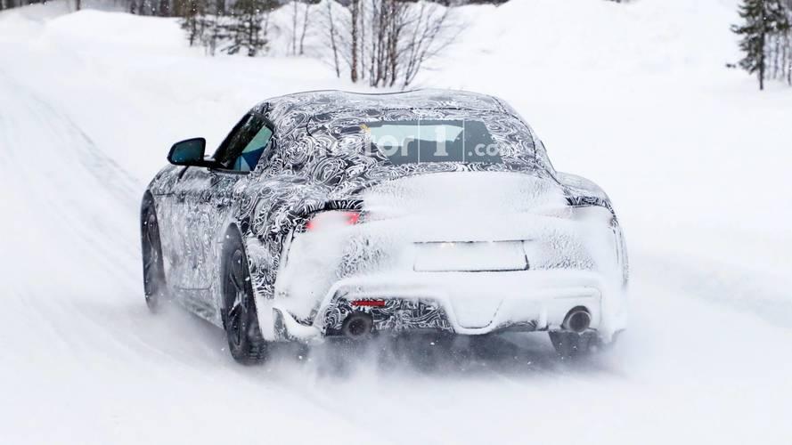 2018 Toyota Supra casus fotoğrafları
