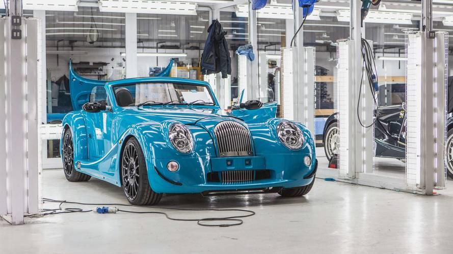 La première Morgan Aero GT sort des chaînes de production