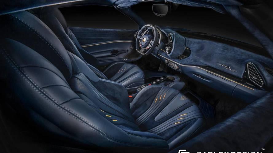 Ferrari 488 Spider Carlex Design