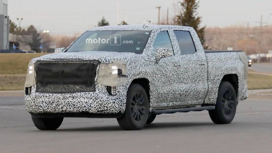 2019 GMC Sierra New Spy Photos
