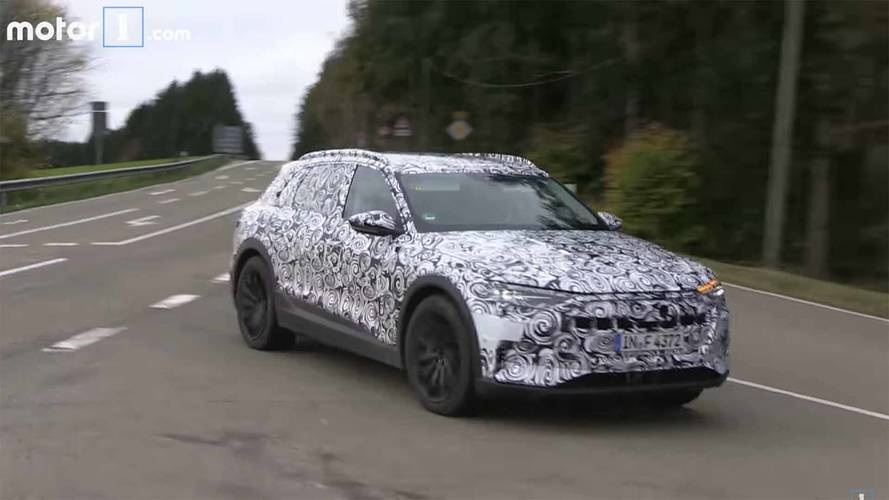 Audi E-Tron Caught In Motion During Final Testing