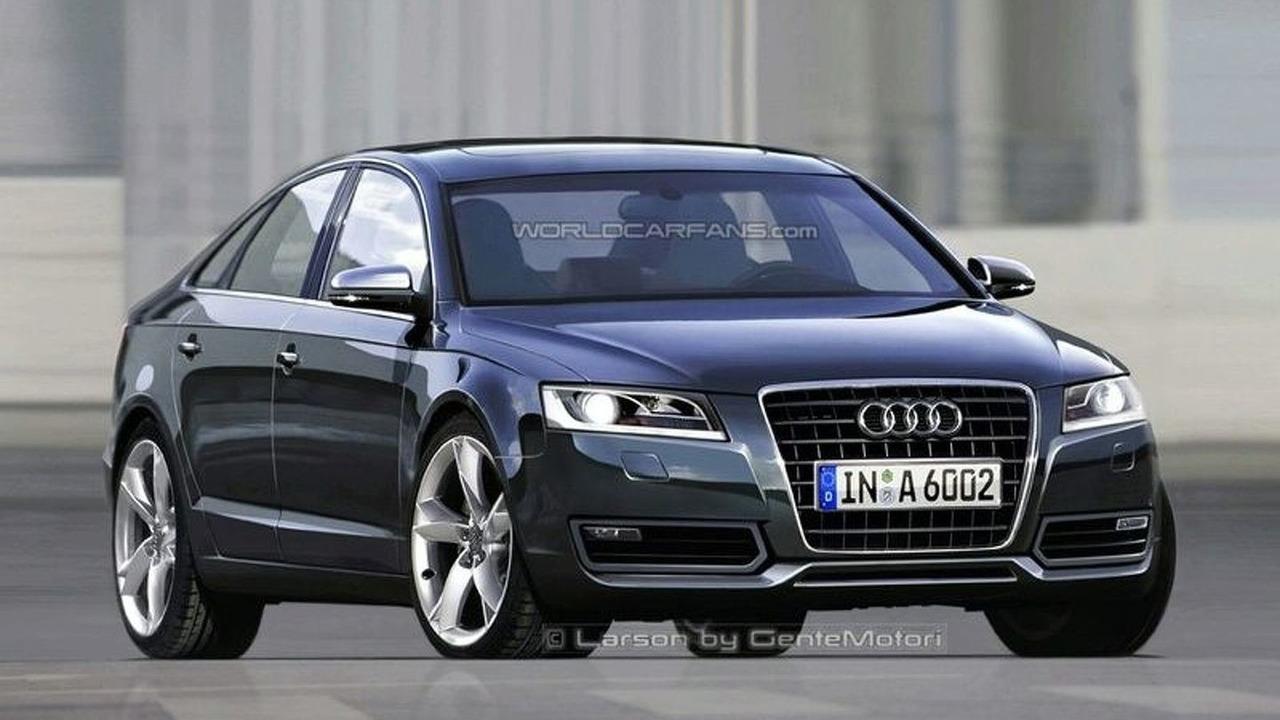 Next Audi A6; Artist Impression