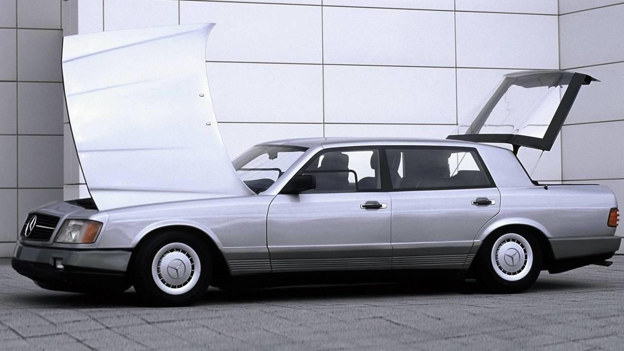 6. Mercedes Auto 2000 konsepti